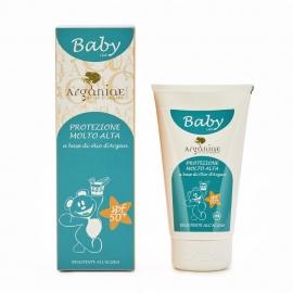 Baby Sonnencreme LSF 50 mit Bio-Arganöl